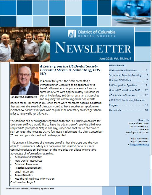 September Newsletter